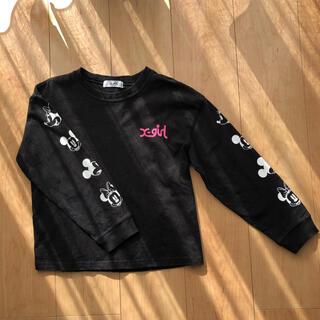 エックスガールステージス(X-girl Stages)のエックスガールステージス 女の子 トレーナー(Tシャツ/カットソー)