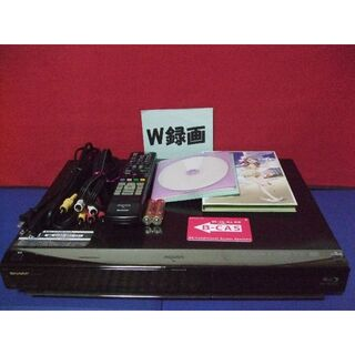 SHARP - シャープ ブルーレイレコーダー BD-HDW45 W録画 訳有り品