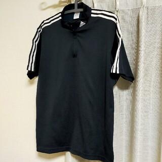 adidas - アディダス ゲームシャツ 半袖 ハーフジップ カットソー Tシャツ