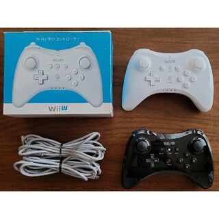 Wii U - 【美品】Nintendo wii u プロコントローラー KURO