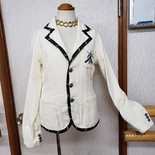 ラルフローレン(Ralph Lauren)のラルフローレン 刺繍ジャケット パイピング(テーラードジャケット)