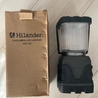 ジェントス(GENTOS)のハイランダーHilander1000ルーメンLEDランタン(ライト/ランタン)