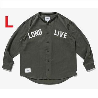[L] WTAPS LEAGUE / LS / COTTON. FLANNEL