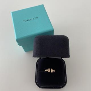 Tiffany & Co. - 1回のみ使用 ティファニー ダイヤモンド ワイヤー リング 18K ゴールド