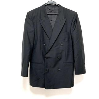 サンローラン(Saint Laurent)のイヴサンローラン ジャケット メンズ - 黒(その他)