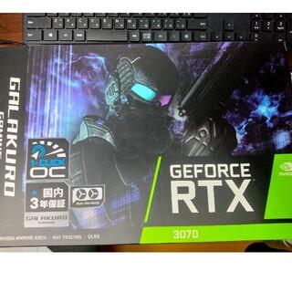玄人志向 GALAKURO Geforce RTX3070 非LHR