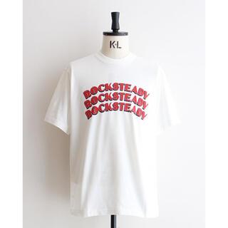COMOLI - blurhms ブラームス Tシャツ ロゴT 白