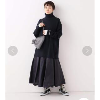 Plage - 美品 Plage 【R'IAM】タフタボリュームスカート