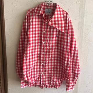 Vivienne Westwood - Vivienne Westwood☆大きな衿チェックシャツ