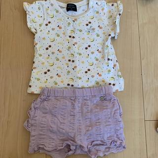 プティマイン(petit main)のプティマイン ベビー トップス パンツ セット 80(Tシャツ)