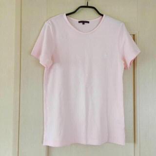 ポロラルフローレン(POLO RALPH LAUREN)の値下げ🍀ラルフローレン Tシャツ うすいピンク(Tシャツ(半袖/袖なし))