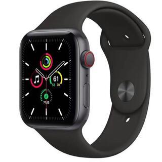 アップルウォッチ(Apple Watch)のApple Watch SE(GPSモデル)40mmスペースグレイアルミニウム(腕時計(デジタル))