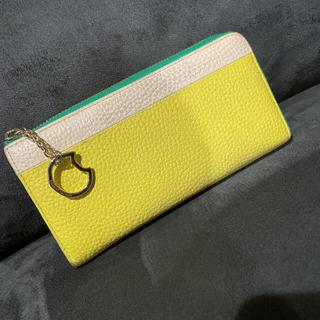 ツモリチサト(TSUMORI CHISATO)のツモリチサト キャリー シュリンクコンビ 長財布(財布)
