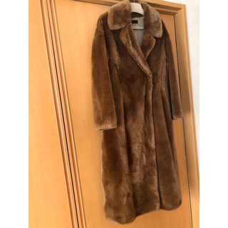 Ron Herman - Long Eco Fur Coat  styling/  ブラウン