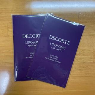 コスメデコルテ(COSME DECORTE)のリポソーム サンプル 12包♡(サンプル/トライアルキット)