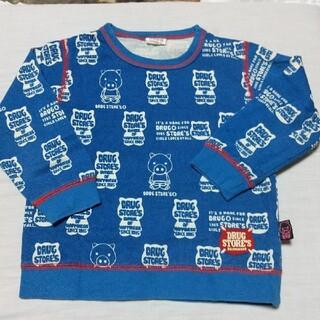 ドラッグストアーズ(drug store's)のドラッグストアーズトレーナー100㎝(Tシャツ/カットソー)