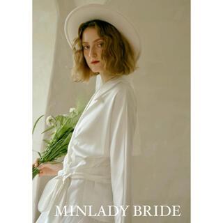 ma533 ホワイトジャケット ウェディングドレス(ウェディングドレス)