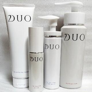 【4点set】デュオ ザエッセンスセラム ホワイトレスキュー 美容液 洗顔料