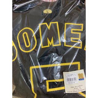 ハンシンタイガース(阪神タイガース)の阪神タイガース 2015背番号Tシャツ ブラック  Lサイズ ゴメス 新品(応援グッズ)