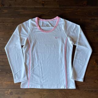 NIKE - NIKE トレーニングウェア ロングTシャツ 白