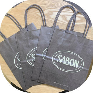 SABON - SABON🍊ショップ袋
