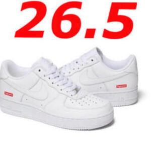 Supreme - supreme nike air  force 1 white 26.5