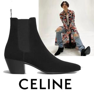 セリーヌ(celine)のCELINE ジャクノ チェルシーブーツ / スエードカーフスキン 42(ブーツ)