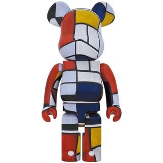 メディコムトイ(MEDICOM TOY)のBE@RBRICK Piet Mondrian 1000%(彫刻/オブジェ)