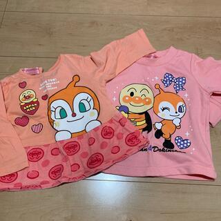 バンダイ(BANDAI)のアンパンマン どきんちゃん    長袖 トレーナー  80センチ (Tシャツ)