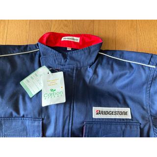 BRIDGESTONE - ELLサイズ 紺 ブリヂストン 長袖 つなぎ カバーオール