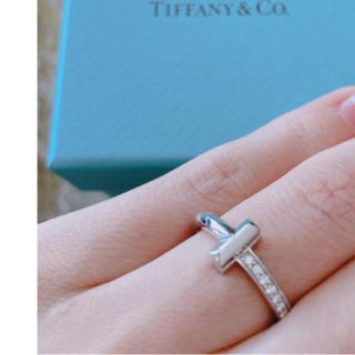 Tiffany & Co. - ティファニー Tワン リング k18wg