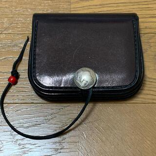 ゴローズ(goro's)のゴローズ 角型コインケース ブラック(コインケース/小銭入れ)