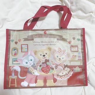 ダッフィー - ダッフィー シェリーメイ ジェラトーニ バレンタイン トートバッグ