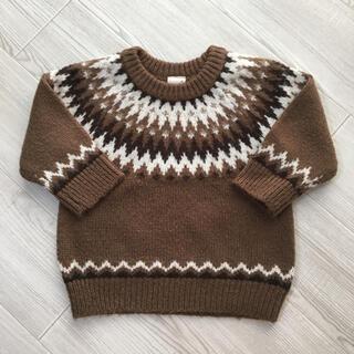 プティマイン(petit main)のpetit main    セーター(ニット)
