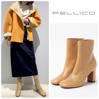 PELLICO - 79200円◇Oggi掲載◇ペリーコ APEMA スクエアトゥブーツ 新品 38