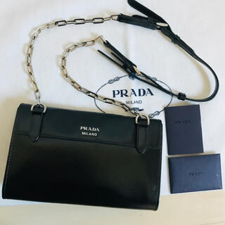 PRADA - 激レア‼︎ PRADA プラダ チェーン ショルダーバッグ ヴィンテージ