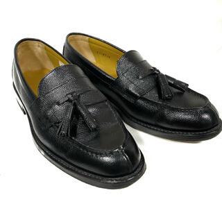 リーガル(REGAL)の革靴 リーガル タッセルローファー シボ革 2641 ブラック REGAL(ドレス/ビジネス)