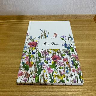 ディオール(Dior)の【送料込 新品】Dior ノート Miss Dior ノベルティ(ノート/メモ帳/ふせん)