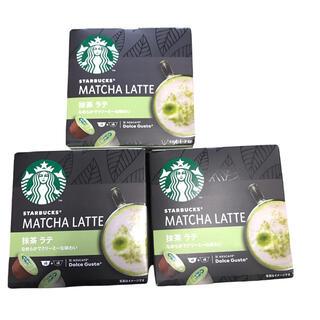 ネスレ(Nestle)のネスカフェドルチェグストカプセルスターバックス 抹茶ラテ3箱セット(その他)