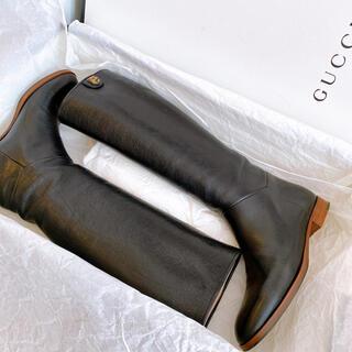グッチ(Gucci)のGUCCI ロングブーツ(ブーツ)