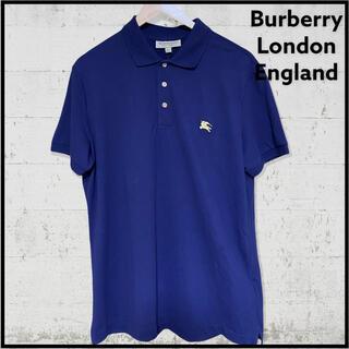 バーバリー(BURBERRY)の【新品】Burberry London England ポロ シャツ 半袖(ポロシャツ)