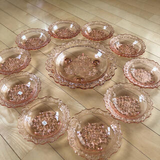 東洋佐々木ガラス - 東洋ガラス ピンク ローズピンク セット