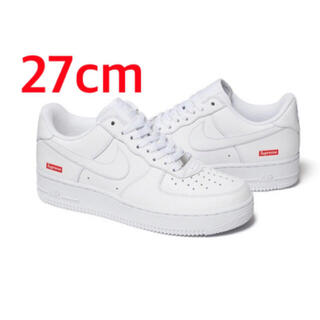 Supreme - Supreme / Nike Air Force 1 Low 白 27cm