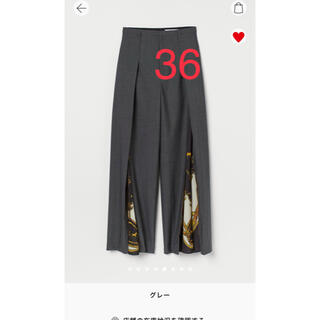TOGA - TOGA H&M ジップレッグワイドパンツ
