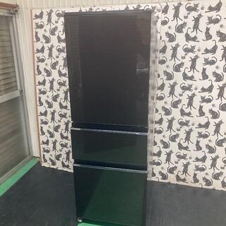 100   送料設置無料 三菱最新自動製氷付き 木目調 大型冷蔵庫