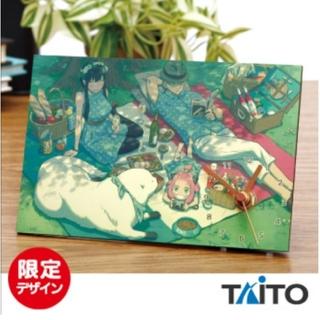 TAITO - SPY×FAMILY スパイファミリー インテリアアートクロック ピクニック