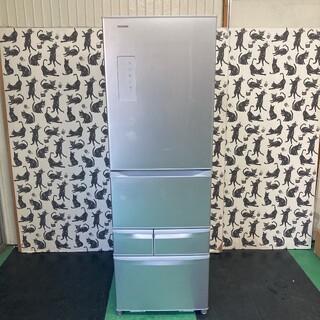 102  送料設置無料 東芝 最新大型冷蔵庫 426L  自動製氷付き