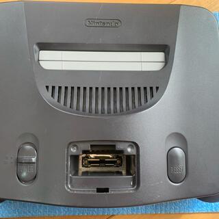ニンテンドウ64(NINTENDO 64)のニンテンドー 64 本体 NINTENDO 64(家庭用ゲーム機本体)