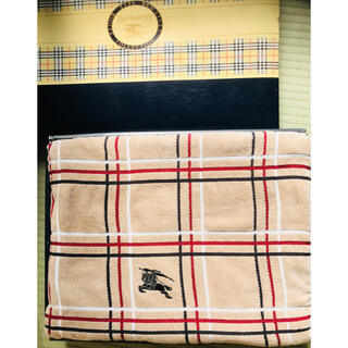 バーバリー(BURBERRY)の西川 BURBERRY バーバリー タオルケット 日本製(毛布)
