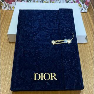ディオール(Dior)の【送料込 新品】Dior ノベルティ ノート ホリデー限定(ノート/メモ帳/ふせん)